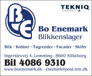 Bo Enemark Blikkenslager